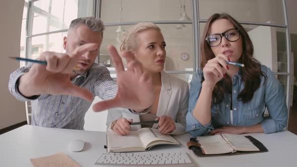 Tiimityöskentely - Business, Corporate Arkistofilmit