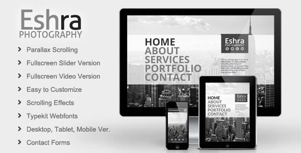 Eshra Photography Muse Theme - Personal Muse Templates