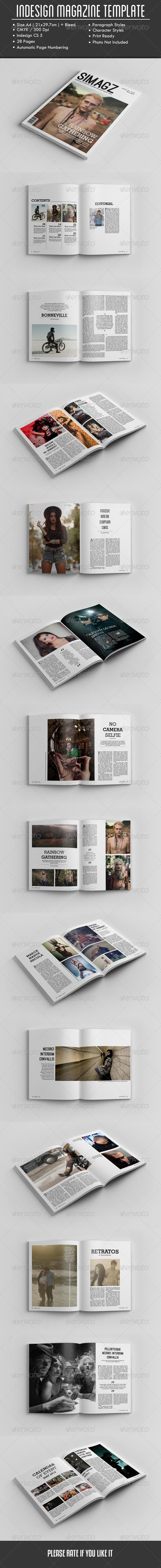 GraphicRiver InDesign Magazine Template 7752615