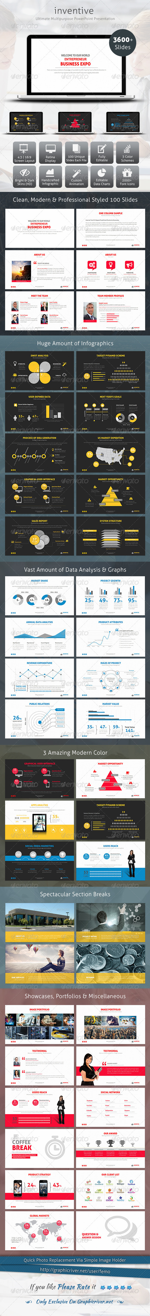 GraphicRiver Inventive PowerPoint Presentation 7636875