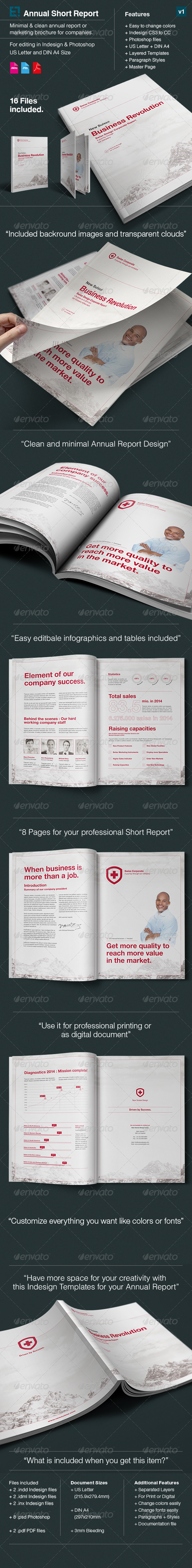 GraphicRiver Annual Report Suisse Design US Letter & DIN A4 7733967