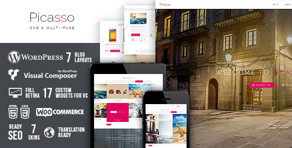 ThemeForest Picasso 7698375