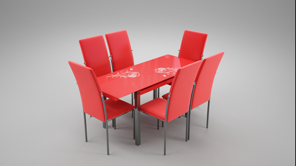3DOcean Kitchen Table 7752726