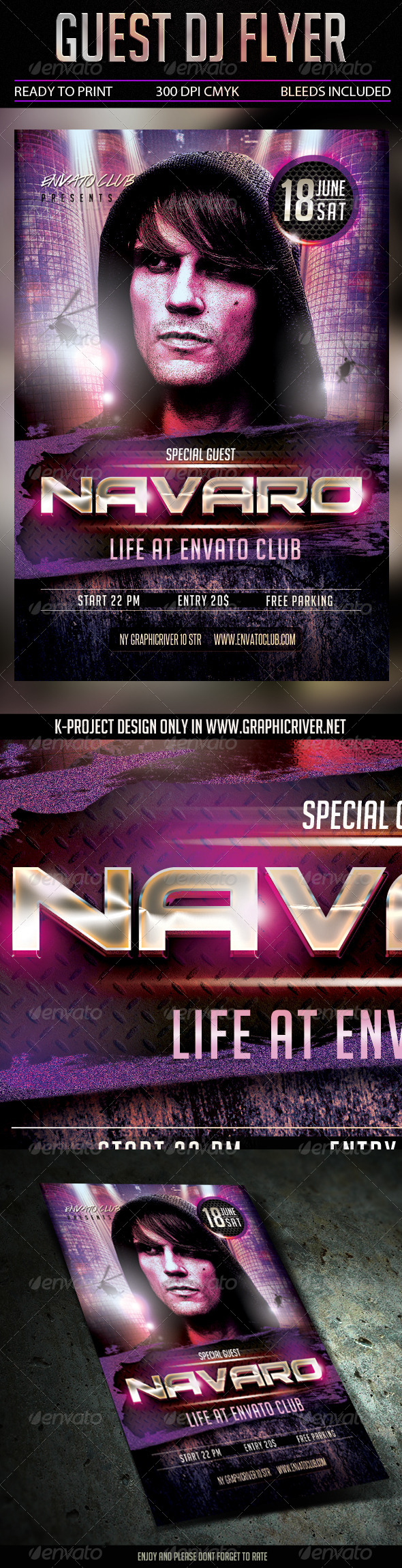GraphicRiver Special Guest DJ Flyer 7752753