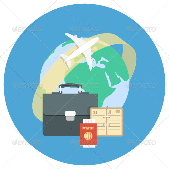 GraphicRiver Business Traveling Concept 7752754