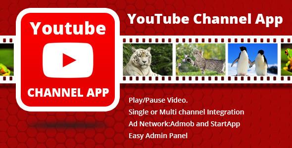 CodeCanyon Youtube Channel App 7753861