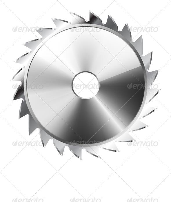 GraphicRiver Saw Blade 7754038