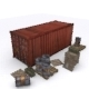 Cargo Prop Asset Set for Games