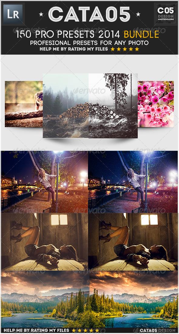 GraphicRiver 150 Pro Presets 2014 Bundle 7754113