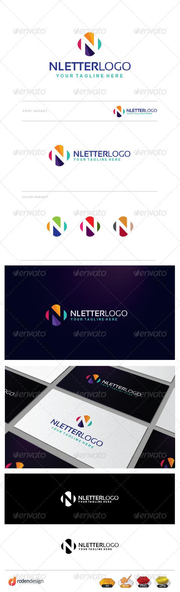 GraphicRiver N Letter Logo 7754240