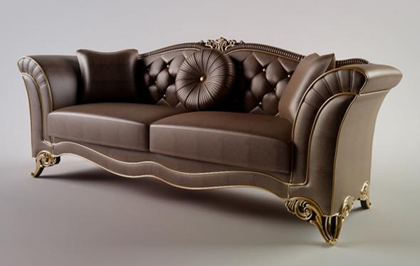 Classic Sofa - 3DOcean Item for Sale