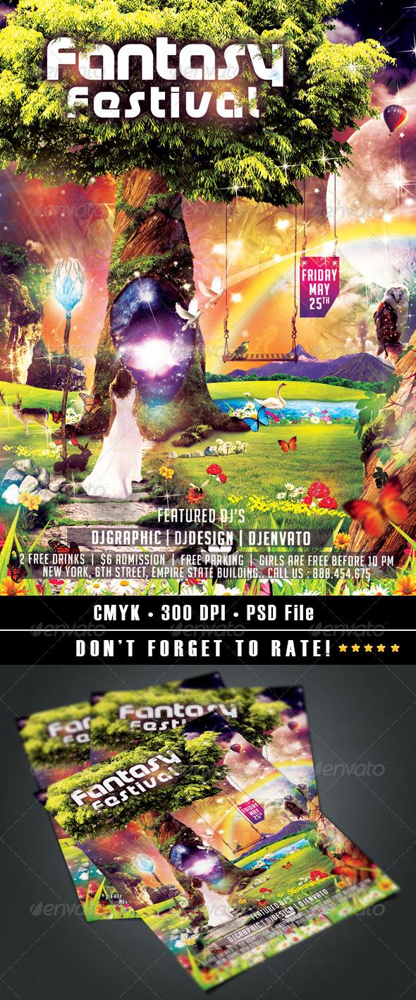GraphicRiver Fantasy Festival 7754389