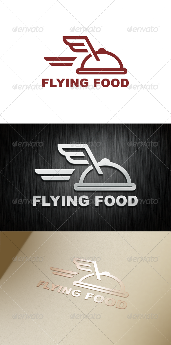 GraphicRiver Flying Food 7727104