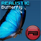 Realistic Butterfly with depth and blur effect - ActiveDen Item for Sale