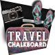 Travel Chalkboard Magazine - GraphicRiver Item for Sale