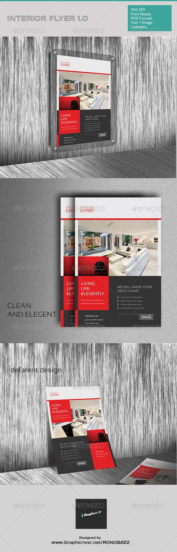 GraphicRiver Interior Flyer 1.0 7755460