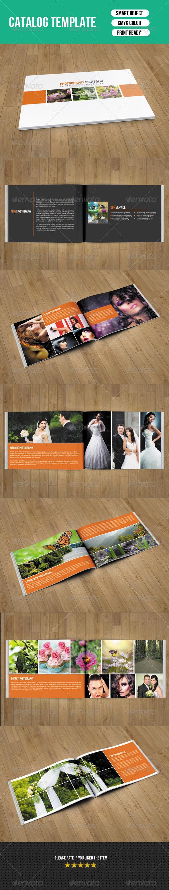 GraphicRiver Photography Portfolio Catalog-V02 7755543