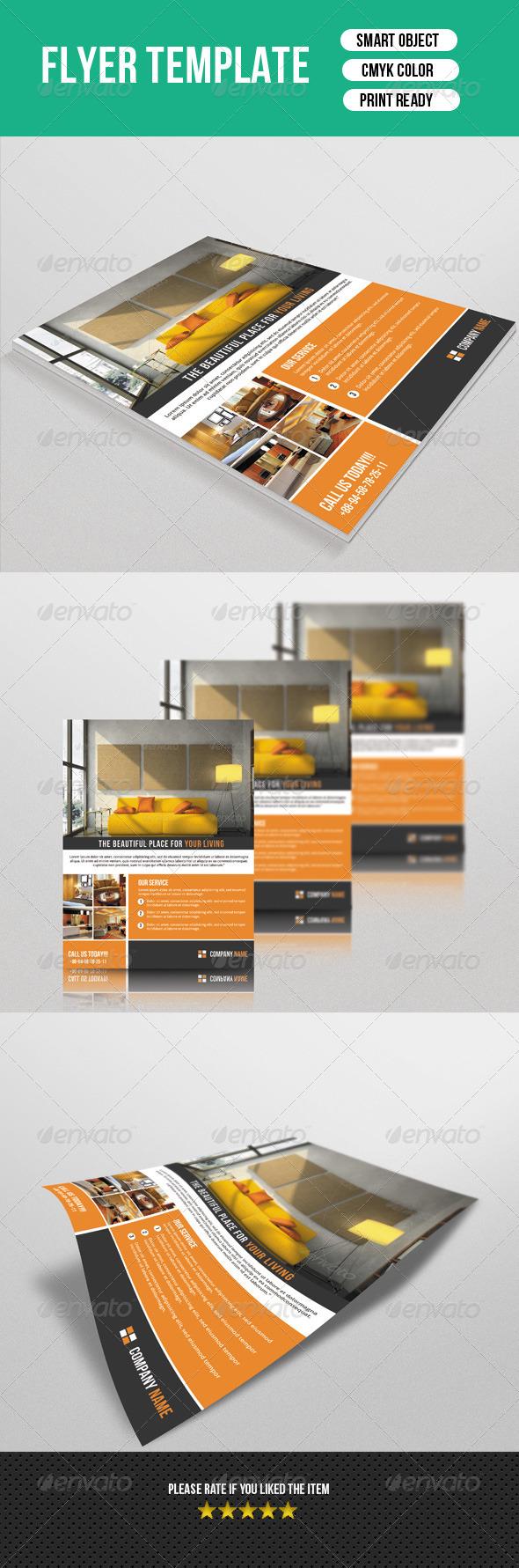 GraphicRiver Interior Flyer-V02 7755548