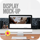 Display Screen Web Mock-Up - GraphicRiver Item for Sale