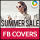 Summer Sale Facebook Cover Page - GraphicRiver Item for Sale