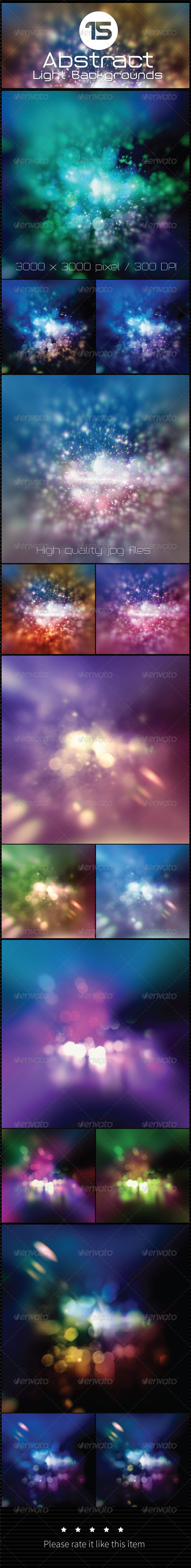 GraphicRiver 15 Abstract Light Background 7755718