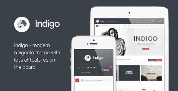 Indigo - Responsive Magento Theme - Magento eCommerce