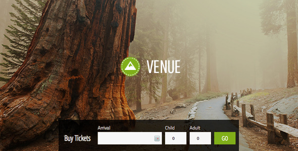 ThemeForest Venue Theme And Ticket Sales For Your Location 7630133
