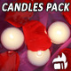 Romantic Candles (3-Pack) - VideoHive Item for Sale