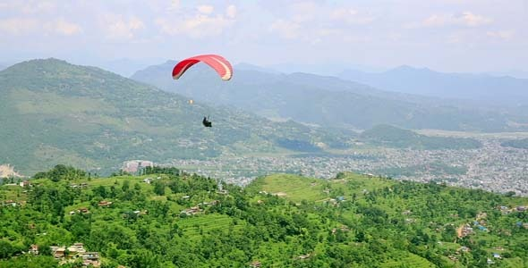 Paraglide In The Sky 9