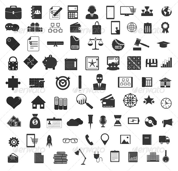 GraphicRiver Universal Icons 7757987