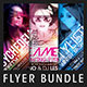 Party Flyer Bundle Vol 02 - GraphicRiver Item for Sale