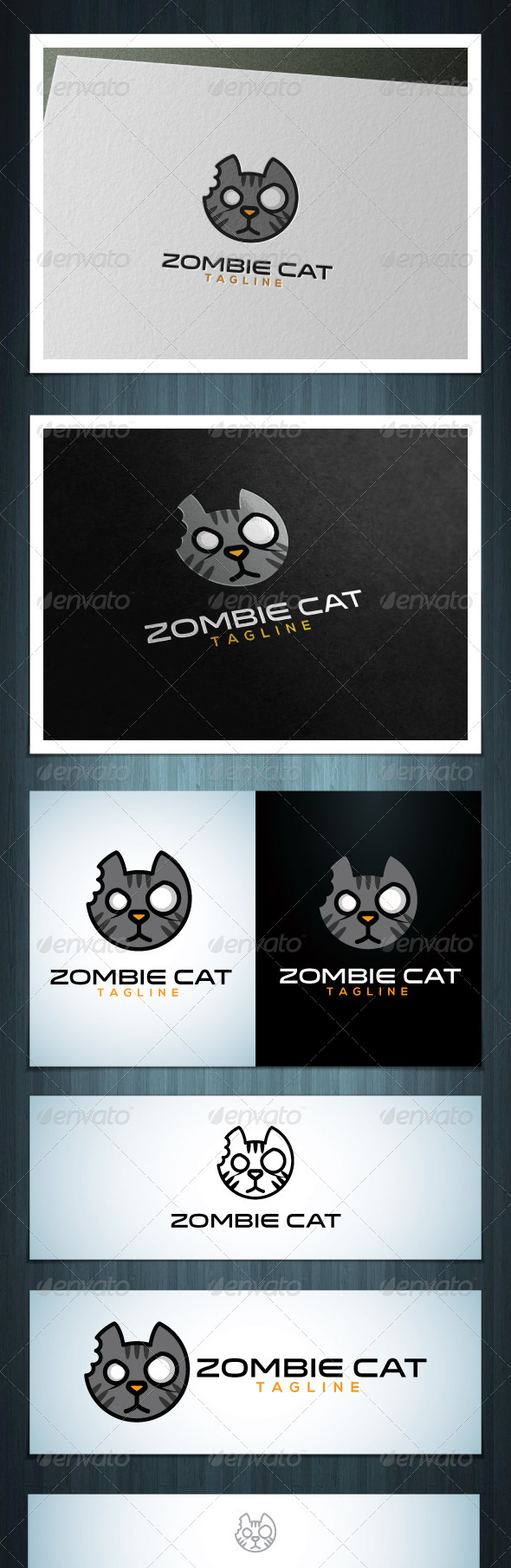 GraphicRiver Zombie Cat 7758434