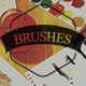 300 Handcrafted Brushes Bundle - GraphicRiver Item for Sale