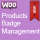 Woocommerce Products Badge Management - CodeCanyon Item for Sale