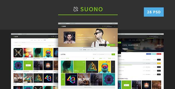 Suono - Music Template