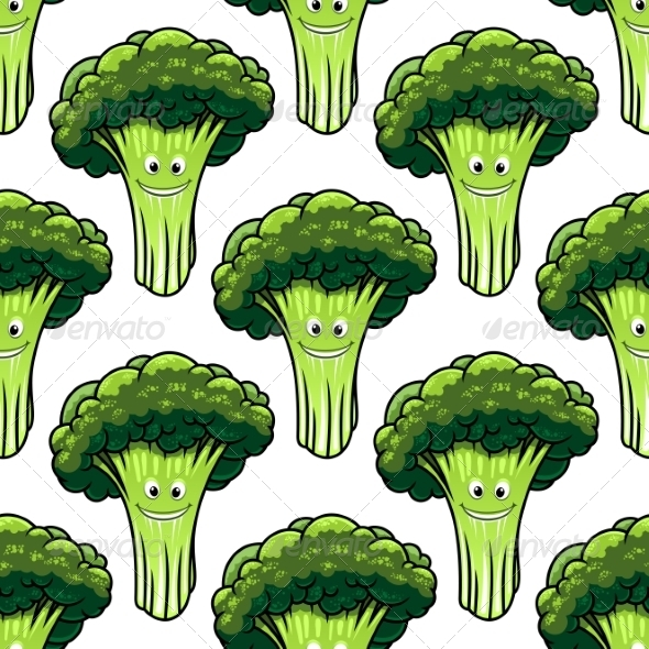 GraphicRiver Broccoli Pattern 7759240