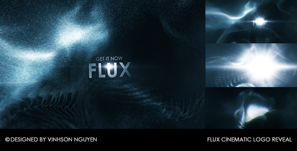 Flux Cinematic Logo Reveal