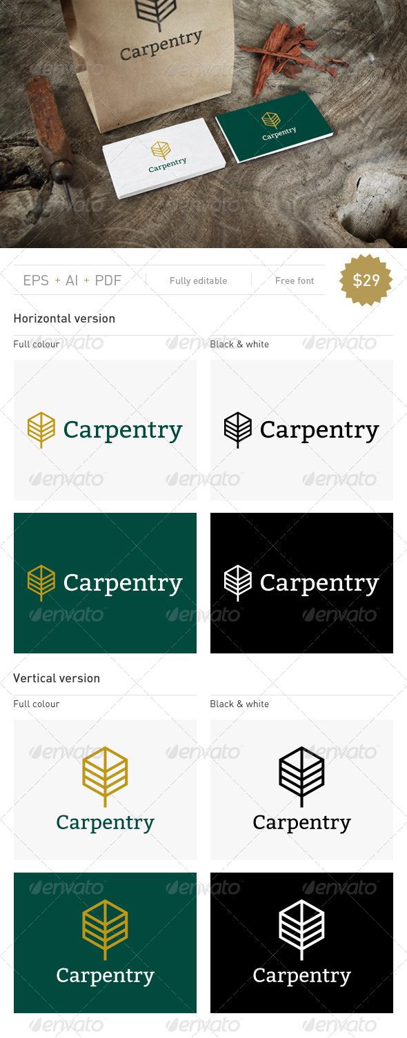 GraphicRiver Carpentry Logo 7759573