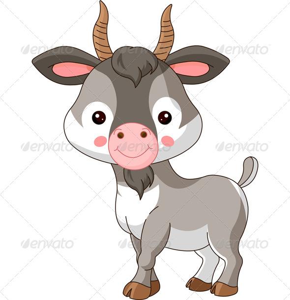 GraphicRiver Farm Animals Goat 7759855
