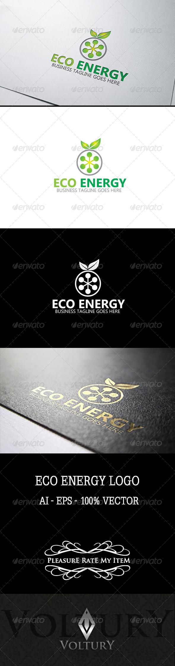GraphicRiver Eco Energy Logo 7759883