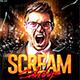 Scream Saturdays - GraphicRiver Item for Sale