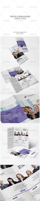 GraphicRiver Corporate Tri-fold Brochure 7760571