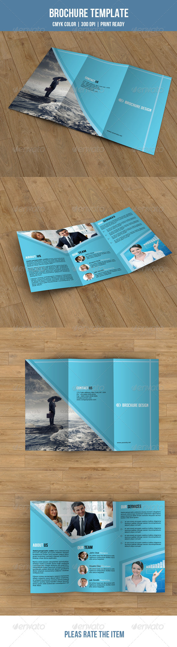 GraphicRiver Trifold Business Brochure-V02 7760664