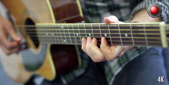 Playing Guitar 4