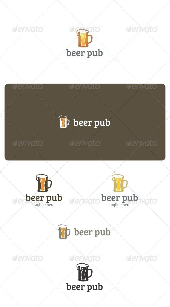 GraphicRiver Beer Pub Logo 7761554