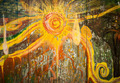 Abstract Sun Graffiti - PhotoDune Item for Sale