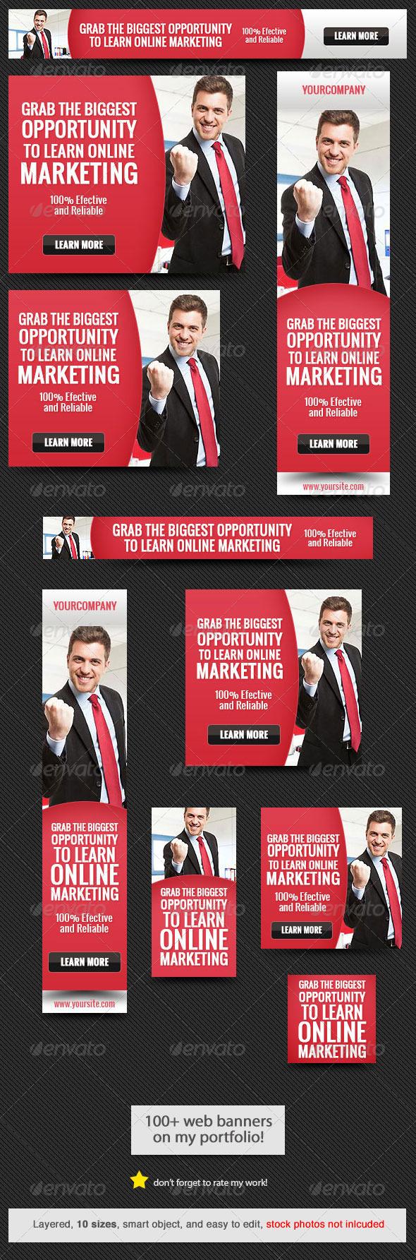 GraphicRiver Corporate Web Banner Design Template 37 7761768