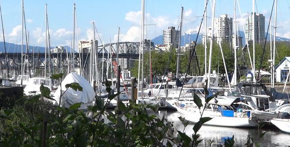 Vancouver Granville Island Harbor 02