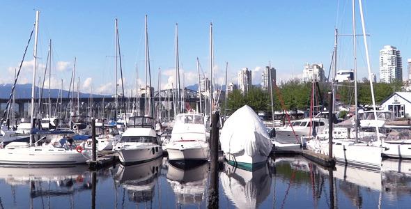 Vancouver Granville Island Harbor 04