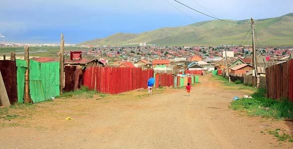 Poor Households In Outskirts Of Ulaanbaatar 2